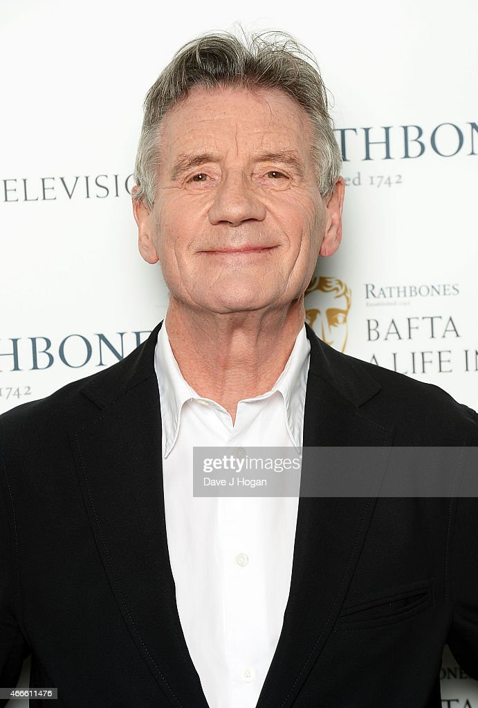 A Life In Television With <a gi-track='captionPersonalityLinkClicked' href=/galleries/search?phrase=Michael+Palin&family=editorial&specificpeople=208240 ng-click='$event.stopPropagation()'>Michael Palin</a> at BAFTA on March 17, 2015 in London, England.
