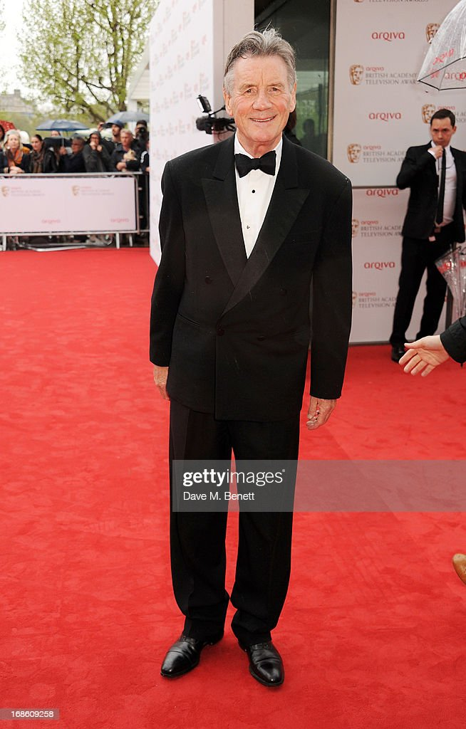 Michael Palin attends the Arqiva British Academy Television Awards 2013 at the Royal Festival Hall on May 12, 2013 in London, England.