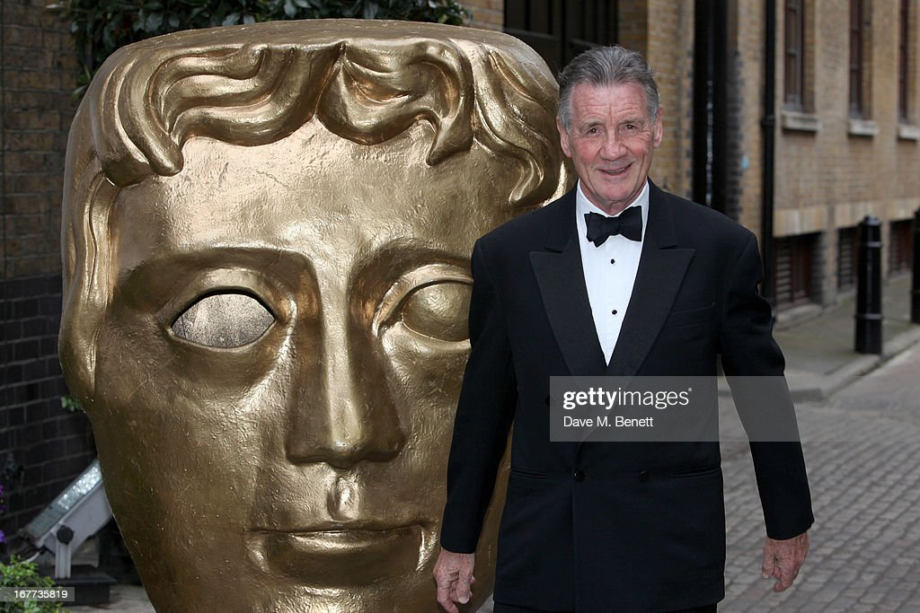 <a gi-track='captionPersonalityLinkClicked' href=/galleries/search?phrase=Michael+Palin&family=editorial&specificpeople=208240 ng-click='$event.stopPropagation()'>Michael Palin</a> attends the BAFTA Craft Awards at The Brewery on April 28, 2013 in London, England.