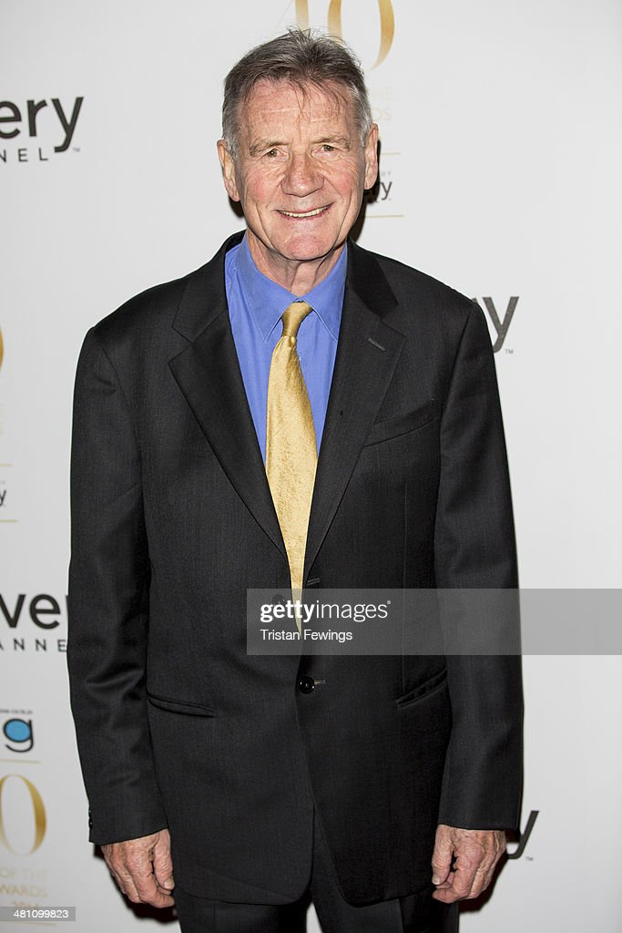 <a gi-track='captionPersonalityLinkClicked' href=/galleries/search?phrase=Michael+Palin&family=editorial&specificpeople=208240 ng-click='$event.stopPropagation()'>Michael Palin</a> attends the Broadcasting Press Guild Awards sponsored by The Discovery Channel at Theatre Royal on March 28, 2014 in London, England.