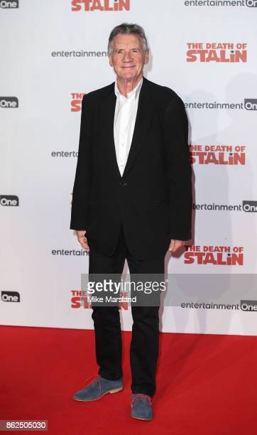 Michael Palin attends 'The Death Of Stalin' UK Premiere held at Bluebird on October 17 2017 in London England