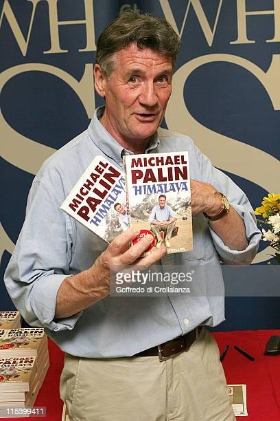 Michael Palin during Michael Palin Signs His Book 'Himalaya' at WHSMith in Victoria Station June 20 2005 at WHSMith Victoria Station in London Great...