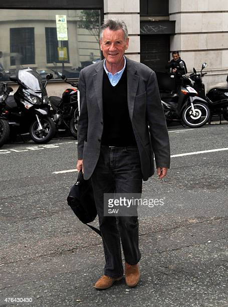Michael Palin sighting at The BBC on June 9 2015 in London England