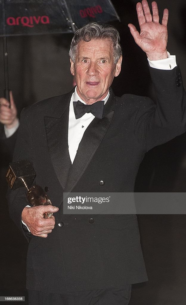 <a gi-track='captionPersonalityLinkClicked' href=/galleries/search?phrase=Michael+Palin&family=editorial&specificpeople=208240 ng-click='$event.stopPropagation()'>Michael Palin</a> sighting at the Royal Festival Hall, South Bank on May 12, 2013 in London, England.