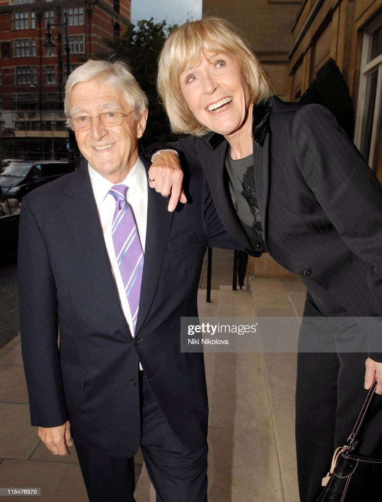 <a gi-track='captionPersonalityLinkClicked' href=/galleries/search?phrase=Michael+Parkinson&family=editorial&specificpeople=159753 ng-click='$event.stopPropagation()'>Michael Parkinson</a> and guest during George Michael's 44th Birthday Party at Berkley Hotel in London, Great Britain.