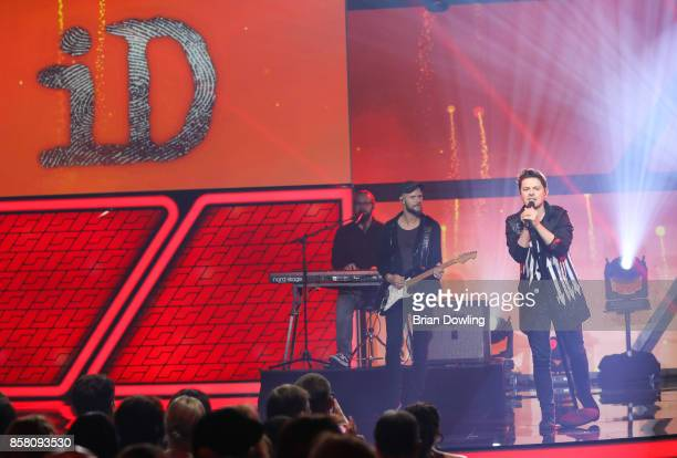 Michael Patrick Kelly performs at the Tribute To Bambi show at Station on October 5 2017 in Berlin Germany