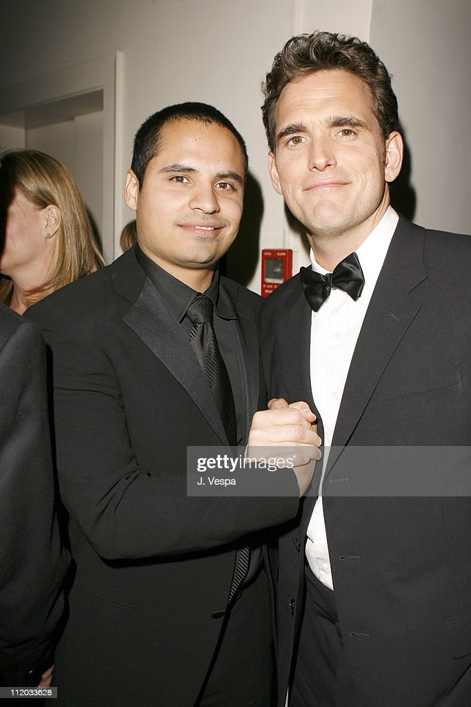 Michael Pena and Matt Dillon during Lionsgate 2006 Oscar Party at Chateau Marmont in West Hollywood, California, United States.