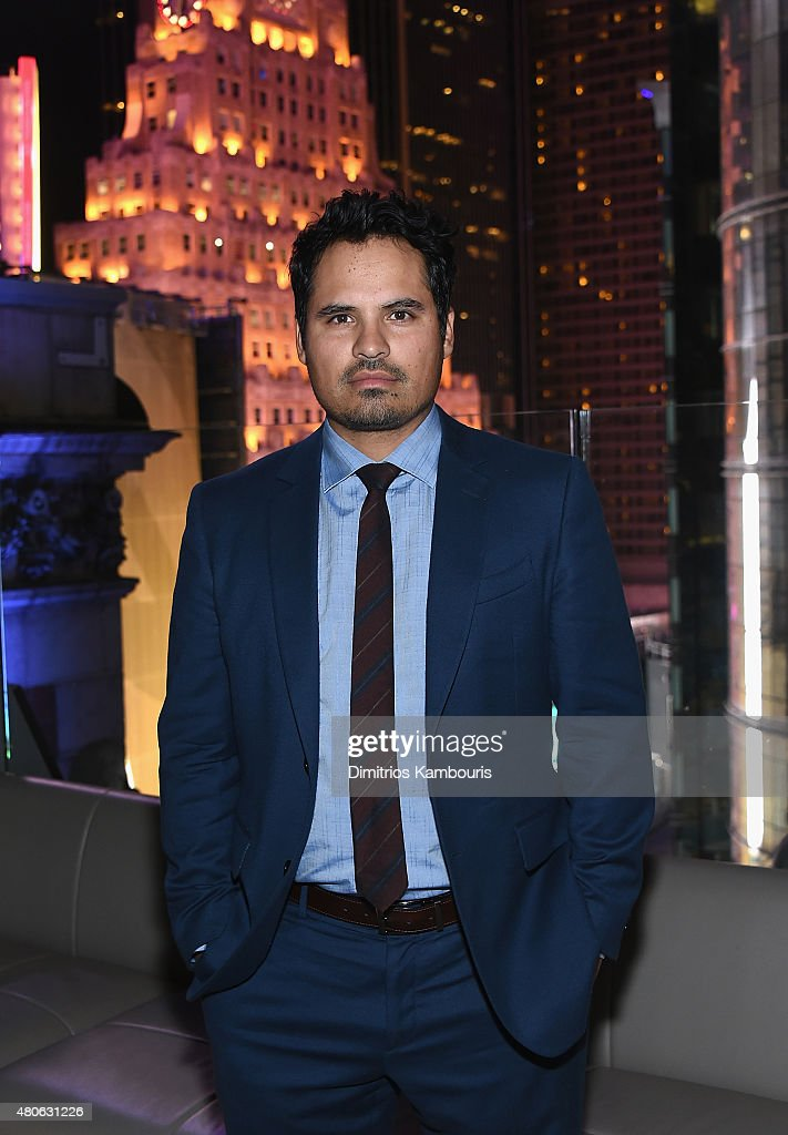 Michael Pena attends the after party for Marvel's screening of 'Ant-Man' hosted by The Cinema Society and Audi at St. Cloud at the Knickerbocker Hotel on July 13, 2015 in New York City.