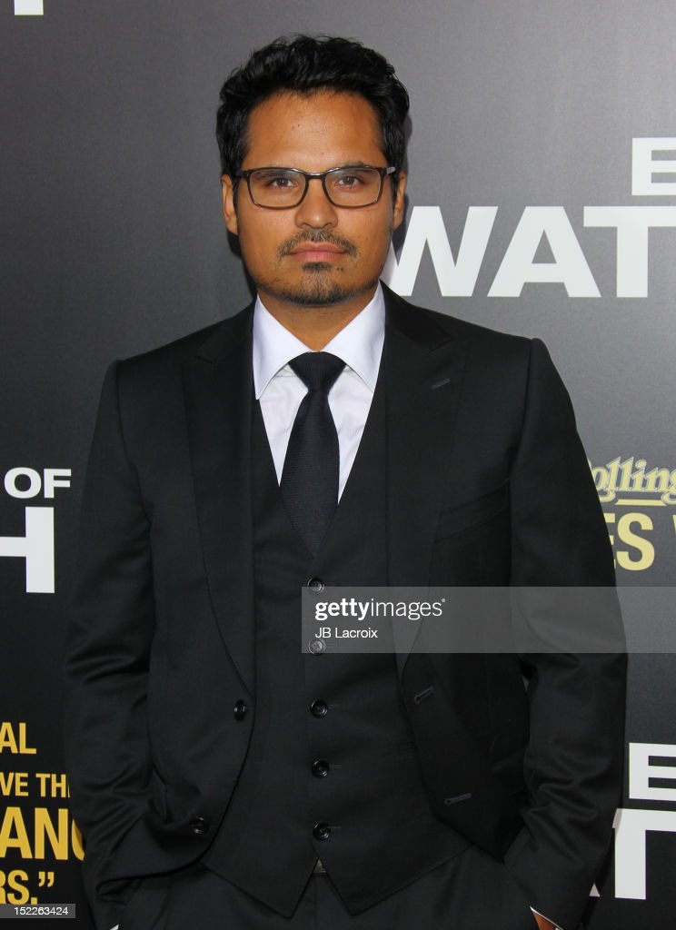 Michael Pena attends the 'End Of Watch' Los Angeles premiere at Regal Cinemas L.A. Live on September 17, 2012 in Los Angeles, California.
