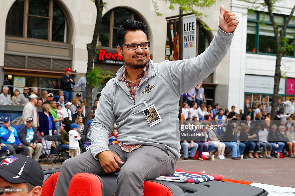 Michael Pena attends the IPL 500 Festival Parade on May 25 2013 in Indianapolis Indiana