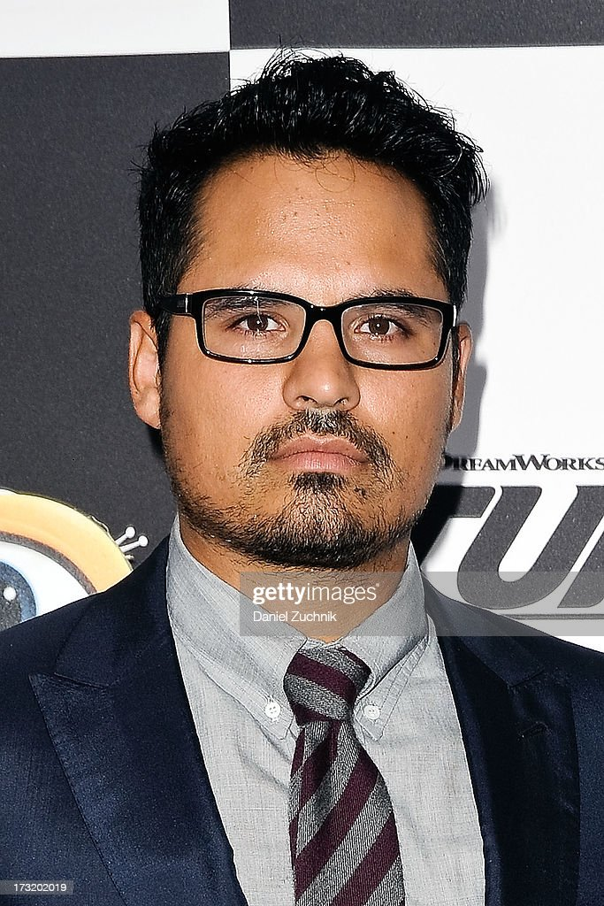 Michael Pena attends the 'Turbo' New York Premiere at AMC Loews Lincoln Square on July 9, 2013 in New York City.