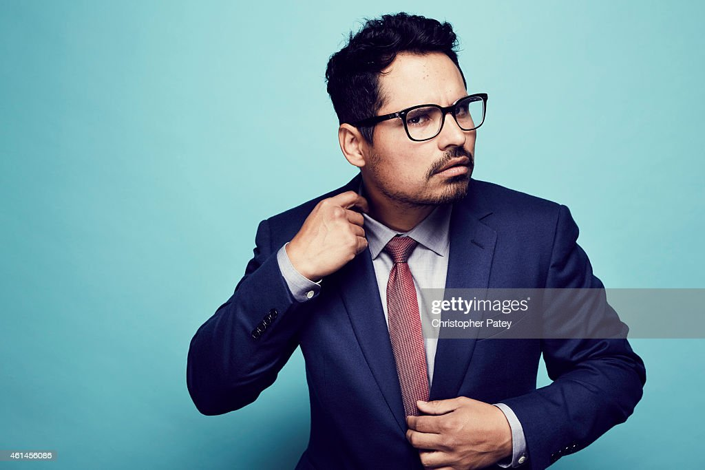 Michael Pena poses for a portrait at the 2015 Film Independent Spirit Awards Nominee Brunch at BOA Steakhouse on January 10 2015 in Los Angeles...