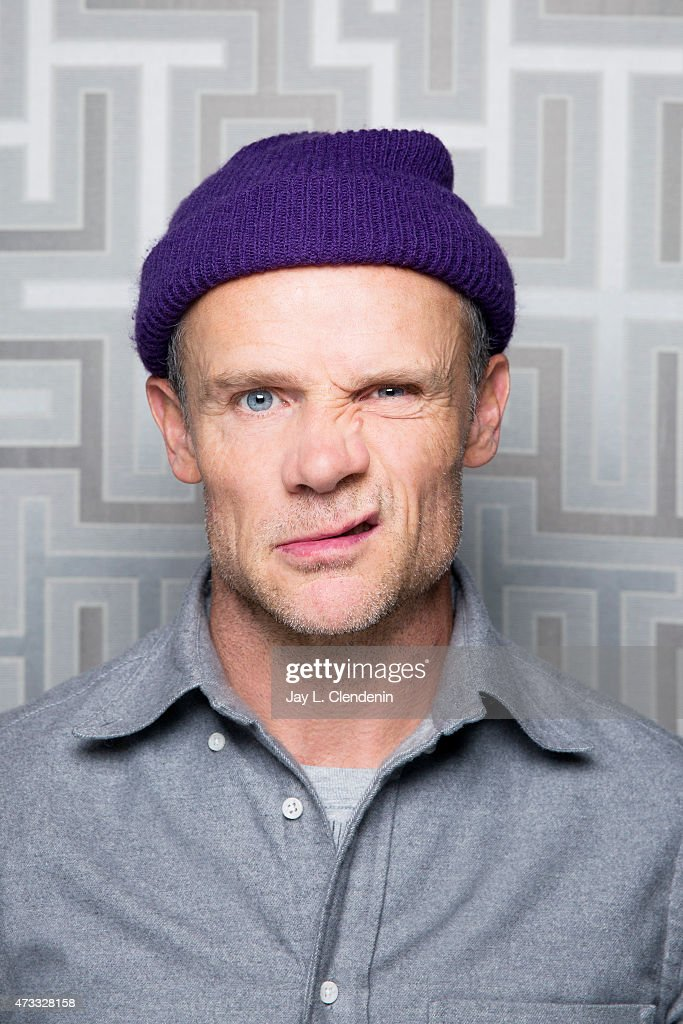 Michael Peter Balzary, better known by his stage name <a gi-track='captionPersonalityLinkClicked' href=/galleries/search?phrase=Flea+-+Musician&family=editorial&specificpeople=213900 ng-click='$event.stopPropagation()'>Flea</a> is photographed for Los Angeles Times on January 18, 2014 in Park City, Utah. PUBLISHED IMAGE.