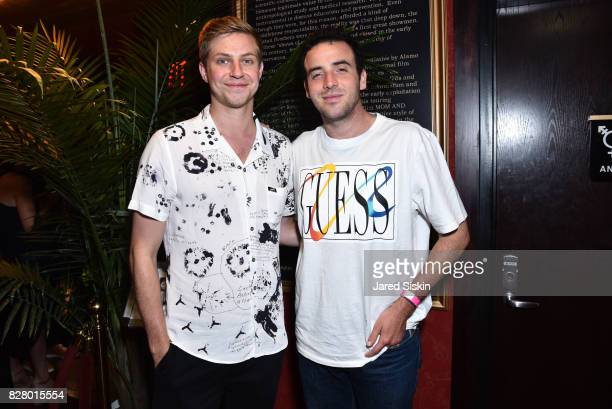 Michael Phelan and Logan Horne attend Neon hosts the after party for the New York Premiere of 'Ingrid Goes West' at Alamo Drafthouse Cinema on August...