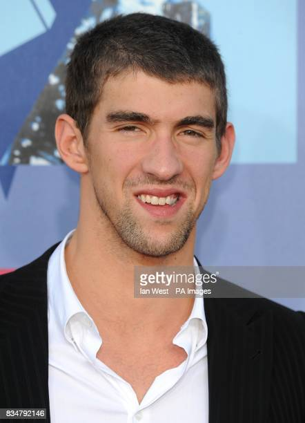 Michael Phelps arrives for the MTV Video Music Awards 2008 at Paramount Studios Hollywood Los Angeles California