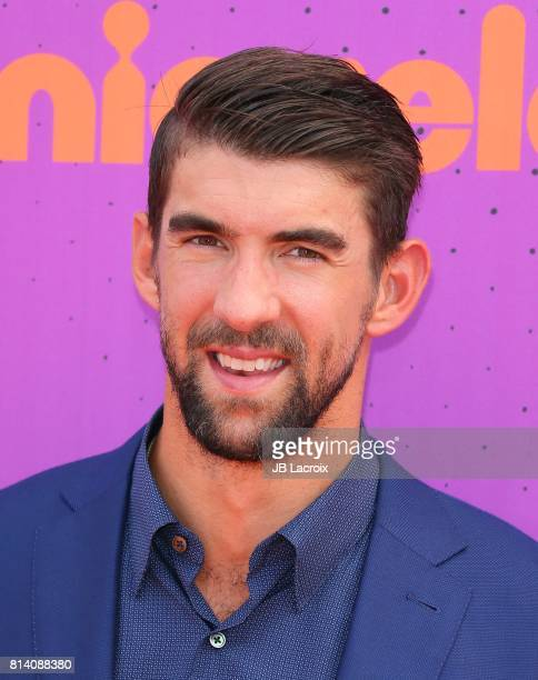 Michael Phelps attends the 2017 Nickelodeon Kids' Choice Sports Awards at Pauley Pavilion on July 13 2017 in Los Angeles California