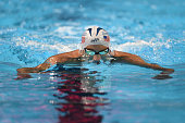 Michael Phelps of the United States competes in a semifinal heat for the Men's 200 Mweter Individual Medley during Day Five of the 2016 US Olympic...