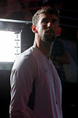 Michael Phelps of the United States looks on during Day One of the 2016 US Olympic Team Swimming Trials at CenturyLink Center on June 26 2016 in...