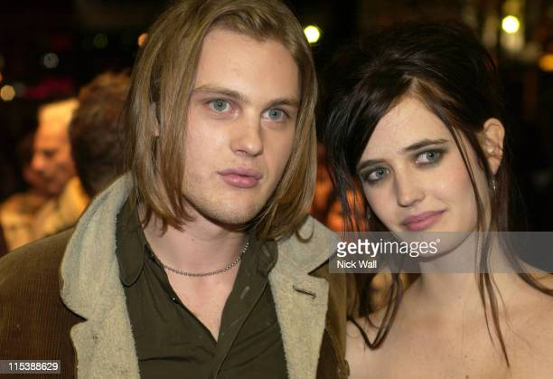 Michael Pitt and Eva Green during The Times BFI London Film Festival 2003 'The Dreamers' at Odeon West End in London Great Britain
