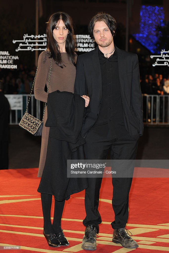 Michael Pitt and guest attend the Short Films Award Ceremony, during the10th Marrakech Film Festival, in Marrakech.