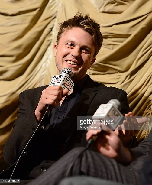 Michael Pitt attends the Film Independent at LACMA presents a special screening and QA of 'I Origins' at Bing Theatre At LACMA on July 17 2014 in Los...