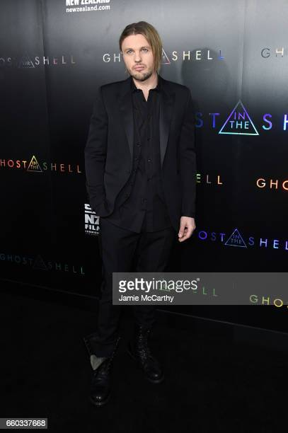 Michael Pitt attends the 'Ghost In The Shell' premiere hosted by Paramount Pictures DreamWorks Pictures at AMC Lincoln Square Theater on March 29...