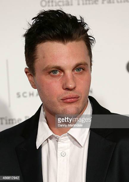 Michael Pitt attends the IWC Gala dinner in honour of the BFI at Battersea Evolution on October 7 2014 in London England