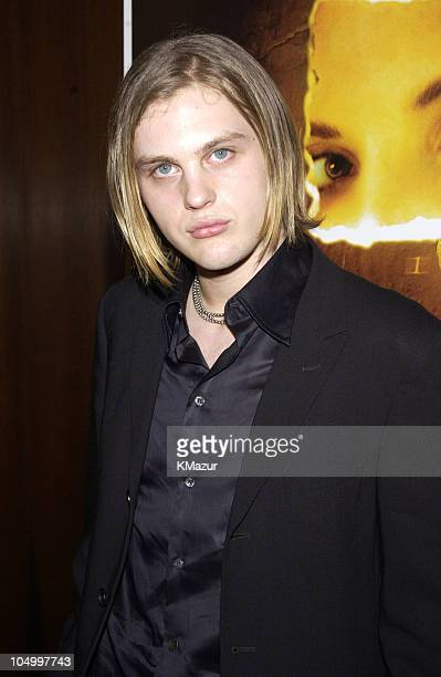 Michael Pitt during New York Premiere of 'Murder by Numbers' at Ziegfeld Theatre in New York City New York United States