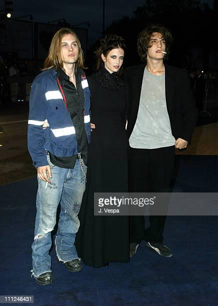 Michael Pitt Eva Green and Louis Garrel during 2003 Venice Film Festival 'The Dreamers' Premiere in Venice Lido Italy