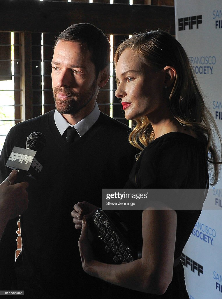 Michael Polich and <a gi-track='captionPersonalityLinkClicked' href=/galleries/search?phrase=Kate+Bosworth&family=editorial&specificpeople=201616 ng-click='$event.stopPropagation()'>Kate Bosworth</a> (L-R) attend the 'Big Sur' Premiere at the 56th San Francisco International Film Festival at Sundance Kabuki Cinema on April 28, 2013 in San Francisco, California.