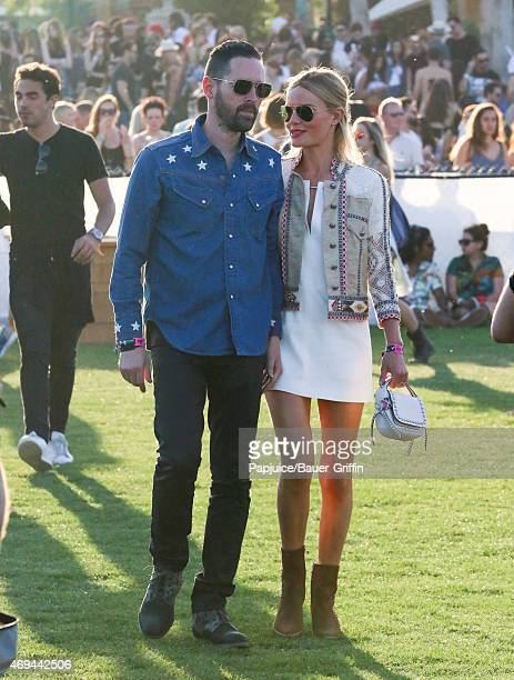 Michael Polish and Kate Bosworth are seen at Coachella Valley Music and Arts Festival at The Empire Polo Club on April 11 2015 in Indio California