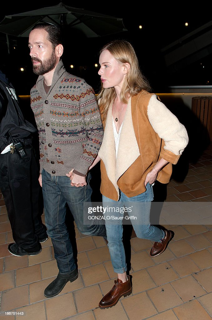 <a gi-track='captionPersonalityLinkClicked' href=/galleries/search?phrase=Michael+Polish&family=editorial&specificpeople=3204536 ng-click='$event.stopPropagation()'>Michael Polish</a> and <a gi-track='captionPersonalityLinkClicked' href=/galleries/search?phrase=Kate+Bosworth&family=editorial&specificpeople=201616 ng-click='$event.stopPropagation()'>Kate Bosworth</a> are seen on November 03, 2013 in Los Angeles, California.
