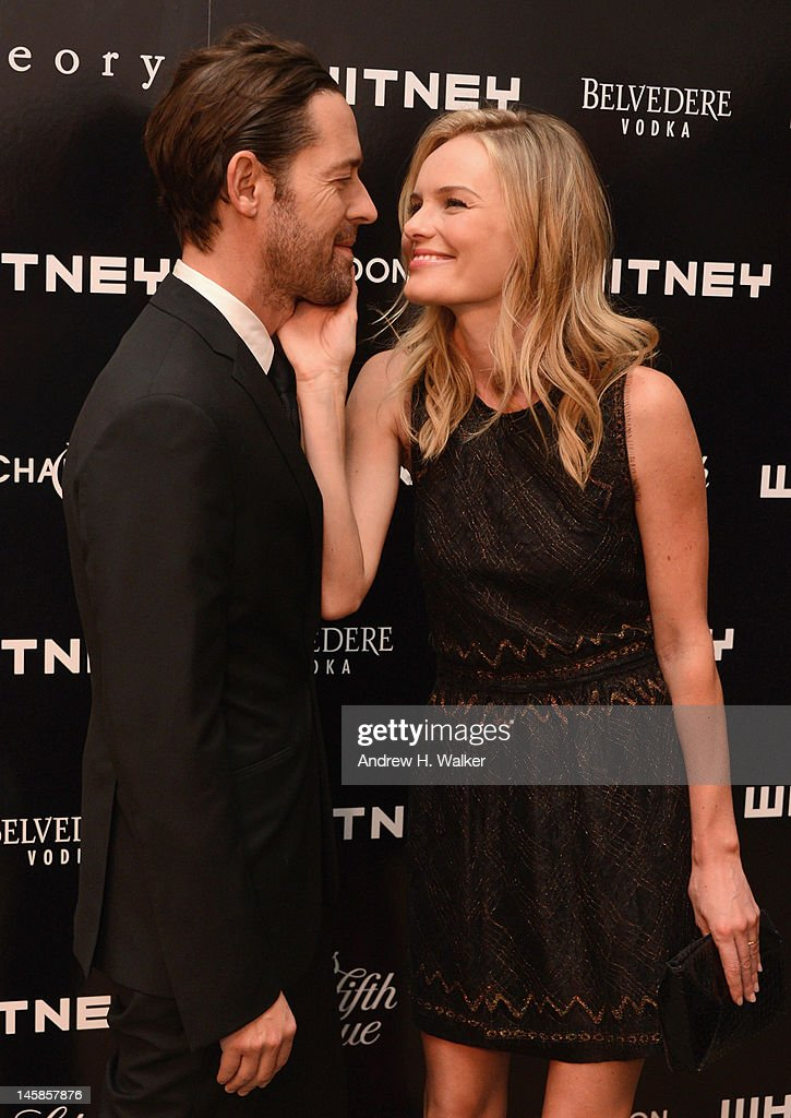 Michael Polish and <a gi-track='captionPersonalityLinkClicked' href=/galleries/search?phrase=Kate+Bosworth&family=editorial&specificpeople=201616 ng-click='$event.stopPropagation()'>Kate Bosworth</a> attend 2012 WHITNEY ART PARTY Sponsored By Theory And Saks Fifth Avenue At Skylight Soho on June 6, 2012 in New York City.
