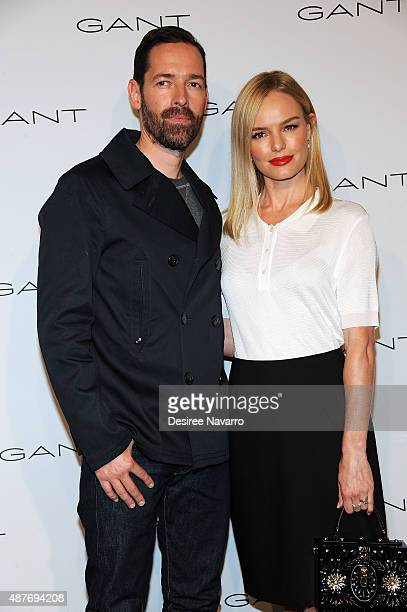 Michael Polish and Kate Bosworth attend House of Gant Presentation Spring 2016 New York Fashion Week on September 10 2015 in New York City
