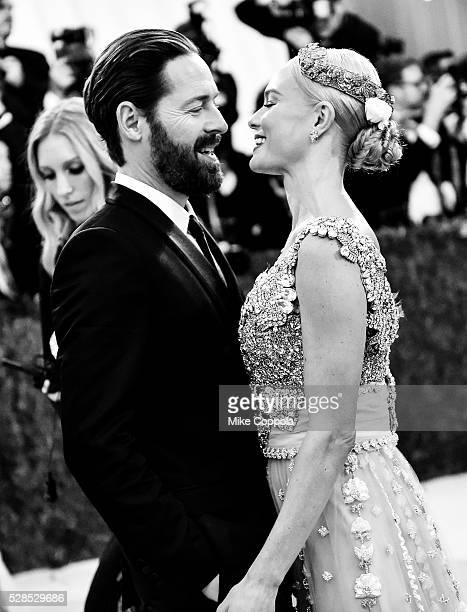 Michael Polish and Kate Bosworth attend the 'Manus x Machina Fashion In An Age Of Technology' Costume Institute Gala at Metropolitan Museum of Art on...