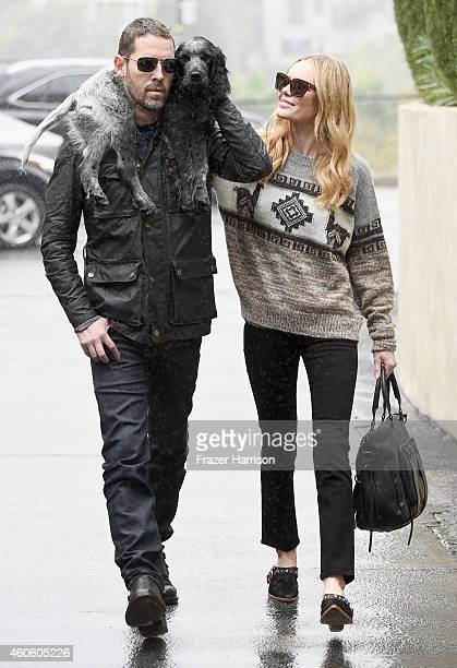 Michael Polish and Kate Bosworth sighting December 16 2014 in Los Angeles California