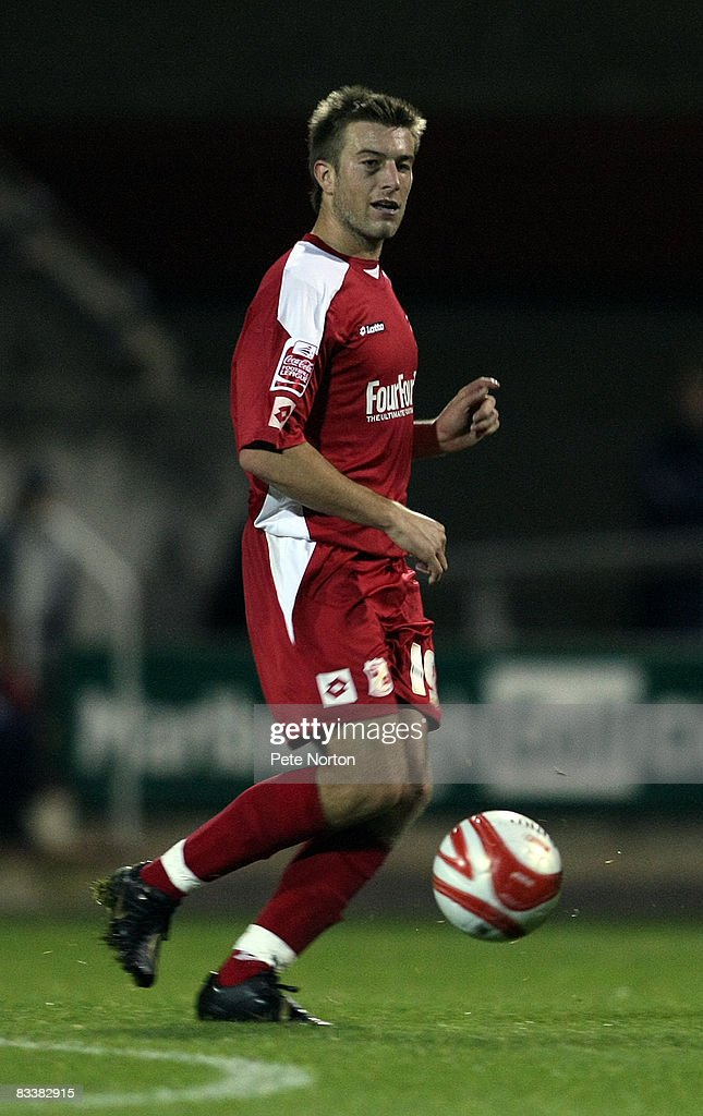 Michael Pook of Swindon Town in action during the Coca Cola League One Match between Swindon Town and Northampton Town at the County Ground on October 21, 2008 in Swindon, England.