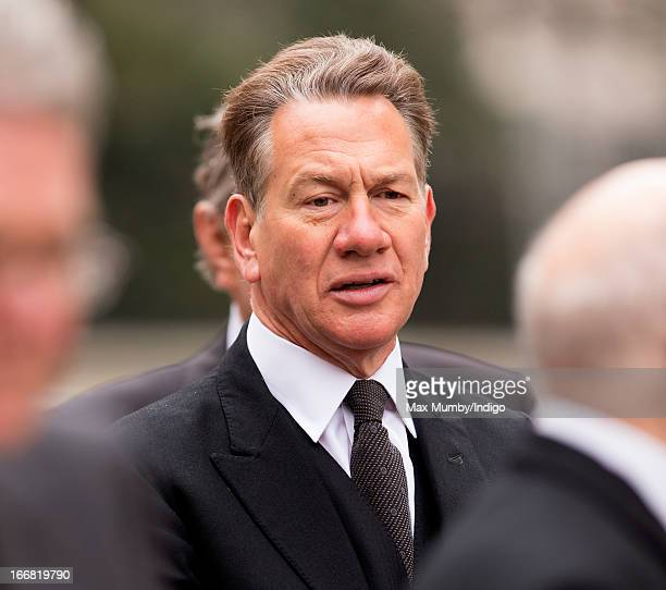 Michael Portillo attends the funeral of former British Prime Minister Baroness Margaret Thatcher at St Paul's Cathedral on April 17 2013 in London...