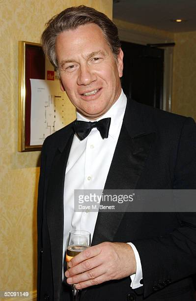 Michael Portillo attends the 'Tsunami Earthquake Appeal Dinner' at the InterContinental Hotel on January 31 2005 in London The dinner and auction...