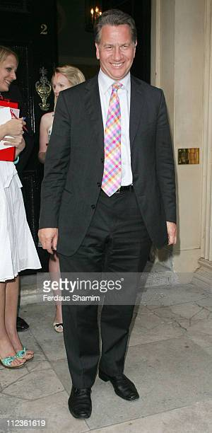 Michael Portillo during Tatler Summer Party 2006 Arrivals June 29 2006 at Home House in London Great Britain