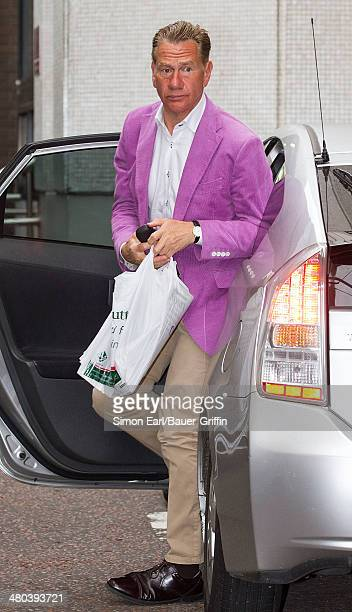 Michael Portillo is seen on August 12 2013 in London United Kingdom