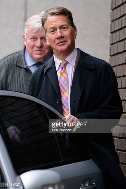 Michael Portillo sighted departing ITV Studios on March 13 2012 in London England