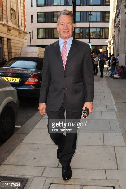 Michael Portillo sighted in Marylebone on September 28 2011 in London England