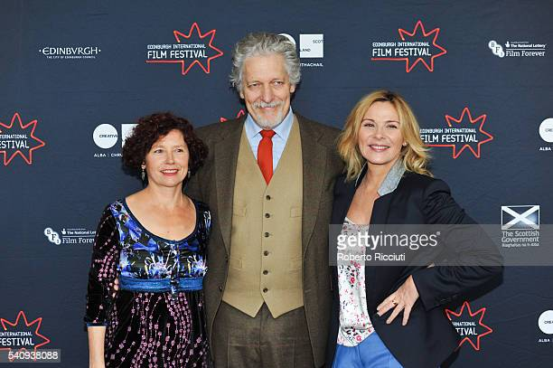 Michael Powell Jury director Iciar Bollain actor Clancy Brown and actress Kim Cattrall attends a photocall during the 70th Edinburgh International...
