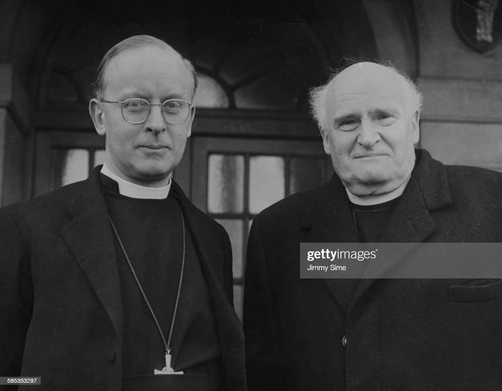 Archbishop Canterbury Michael Ramsey Stock s and