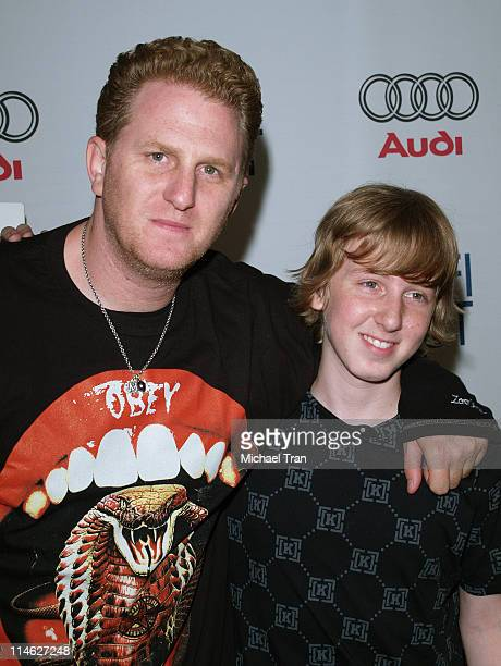 Michael Rapaport and Dean Collins during AFI Festival 2006 Premiere of 'Special' at AFI Festival Village in Los Angeles California United States