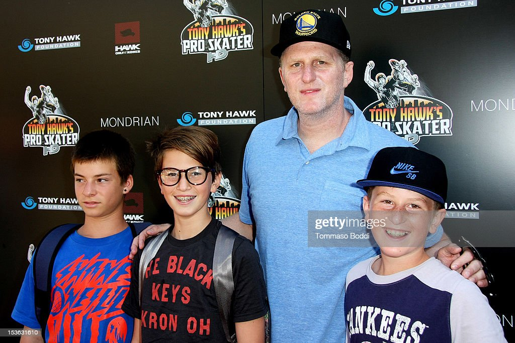 Michael Rapaport and guests attend the 9th annual Tony Hawk Stand Up For Skateparks Benefit held at Ron Burkle's Green Acres Estate on October 7, 2012 in Beverly Hills, California.