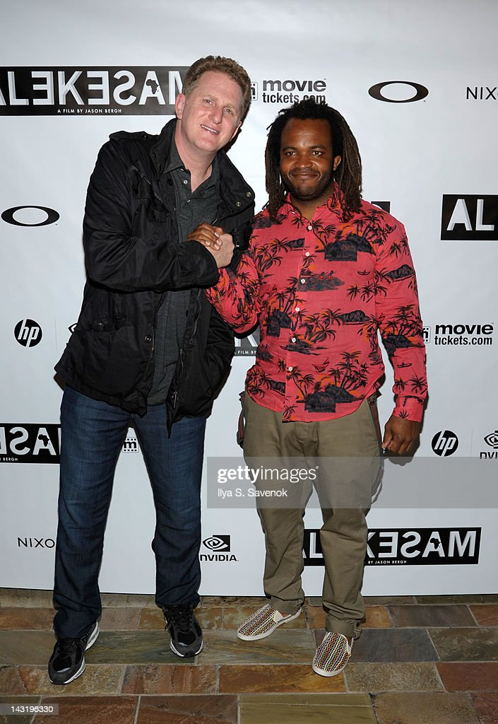 <a gi-track='captionPersonalityLinkClicked' href=/galleries/search?phrase=Michael+Rapaport&family=editorial&specificpeople=234353 ng-click='$event.stopPropagation()'>Michael Rapaport</a> and <a gi-track='captionPersonalityLinkClicked' href=/galleries/search?phrase=Sal+Masekela&family=editorial&specificpeople=572654 ng-click='$event.stopPropagation()'>Sal Masekela</a> attend the premiere of 'Alekesam' at Tribeca Grand Hotel on April 20, 2012 in New York City.