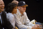 Michael Rapaport at Los Angeles Lakers game against the Minnesota Timberwolves at the Staples Center in Los Angeles Calif on Thursday March 31 2005