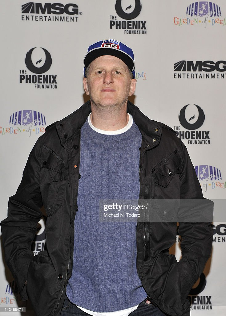 Michael Rapaport attends the 2012 Garden of Dreams talent show at Radio City Music Hall on April 5, 2012 in New York City.